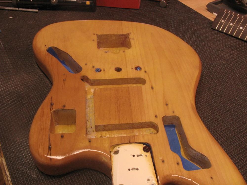 Fender Jaguar maalaus (6/6)