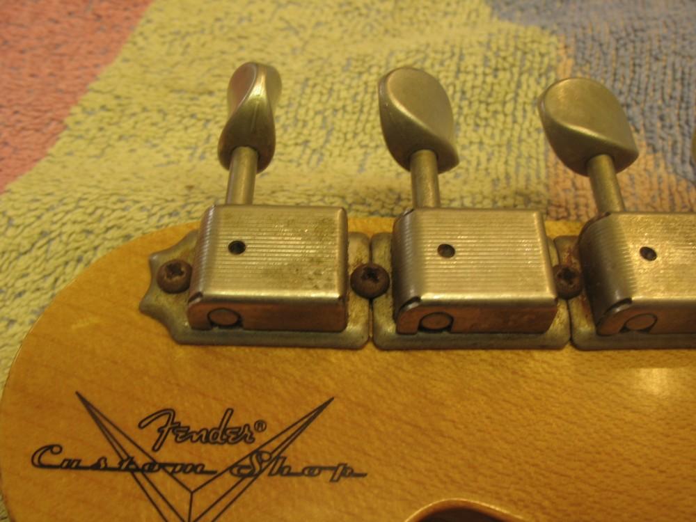 Soitinten tyyppivikoja: Fender Custom Shop Relic Stratocaster (5/5)