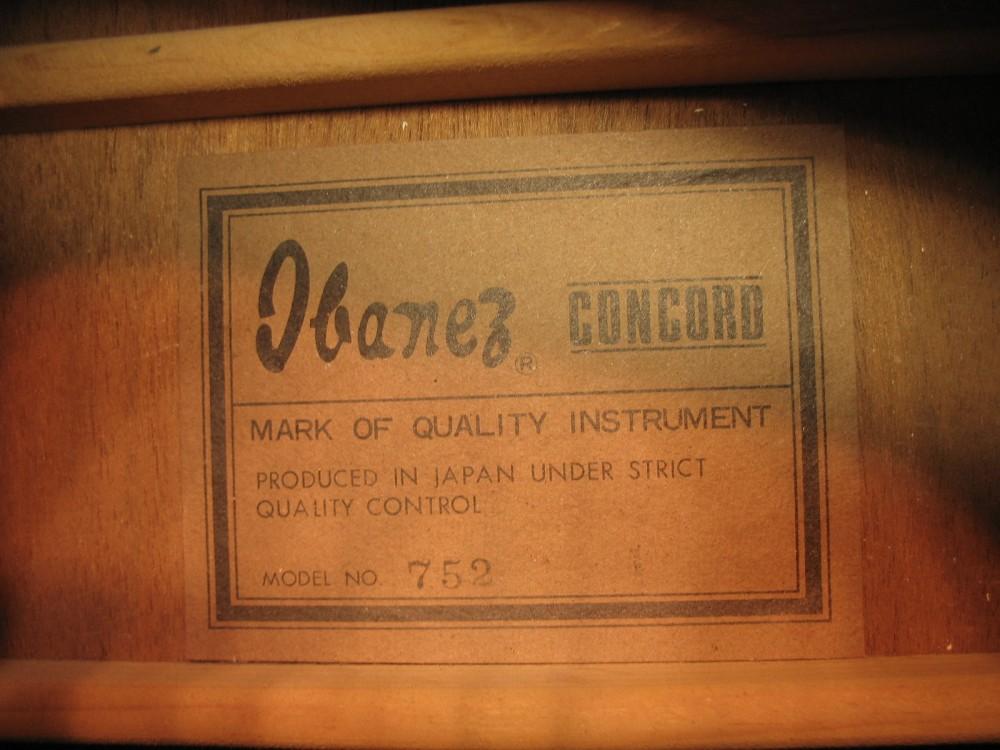 IBANEZ CONCORD (1/3)